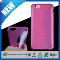 Quality Customizable 4.7 Inch S-Line Slim Soft TPU Gel Cover Apple iPhone 6 Cases wholesale