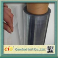 Buy cheap Transparent 100 PVC Self Adhesive Film , Cold Lamination PVC Decorative Film product