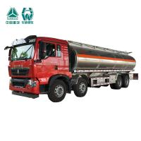 High Density Fuel Tank Semi Trailer For Oil Station Good Antui Static Performance