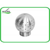 Buy cheap durable Sanitary SS Tank Spray Cleaning Balls Male / Female Thread Fixed from wholesalers