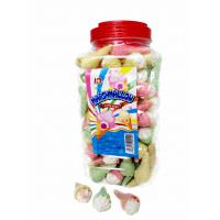 Quality Jar Packaging Snacks Ice Cream Shape  Fruity Flavor Marshmallow Candy ,  Customized Marshmallow Sweets And Soft wholesale
