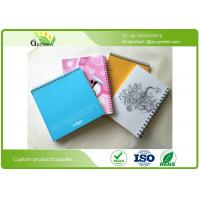 Quality Art Paper Film Lamination School Spiral Bound Notebook Custom Different Sizes wholesale