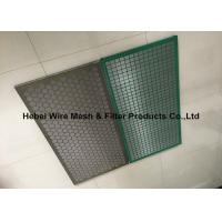 Quality Mud Conditioner Shake Screen , Steel Frame Solid Control Shaker Screen wholesale
