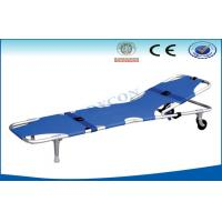 Quality Foldable Adjustable Ambulance Stretcher , Patient Foldaway Stretcher wholesale
