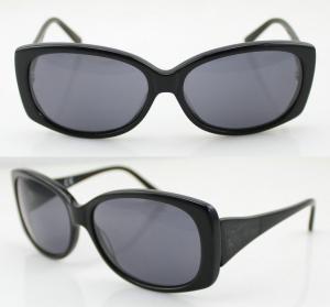 Quality Men Full Frame Black Oval Sports Sunglasses For UV Protection wholesale