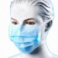 Quality Disposable Surgical Face Mask with Ties, 3-ply, 99% BFE and Optional Colors, Logo Can be Printed wholesale