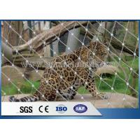 Quality Stainless Steel Wire Mesh,Stainless Steel Rope Net For Zoo Animal enclosure wholesale