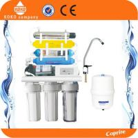 Quality UV Water Purification 7 Stage Reverse Osmosis Water Filter System For Restaurant wholesale