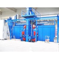 China Chain Conveyor Type Hanger Shot Blasting Machine For Lpg Gas Cylinder on sale