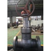 Quality API600 BB GATE VALVE OS&Y  WCB BODY 1500LB 24INCH  electric actuator RF FLANGE wholesale