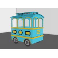 Quality 25 Seats Kids Trackless Train Amusement Ride For Theme And Amusement Parks wholesale