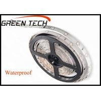 Cheap IP65 12 Volt LED Strip Lights Waterproof 3m Adhesive Tape Available 120 Degree for sale