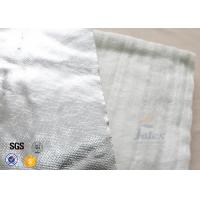 Buy cheap Aluminium Foil Fiberglass Needle Mat E Glass 25MM White 800℃ Heat Insulation from wholesalers