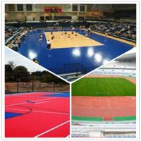Quality 3W outdoor basketball court / suspend interlocking / pvc floor wholesale