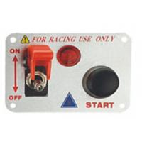 Quality Automotive Racing Switch Panel With Flip Up Cover , Racing Toggle Switch wholesale