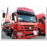 Buy cheap 10 wheels Sinotruk Howo tractor truck / prime mover with luxury cabin and 12R20 tires product