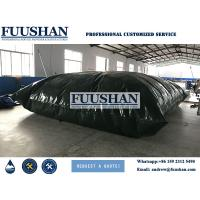 Quality Fuushan 80000 Liter Plastic PVC Water Storage Bladder Tank /PVC Pillow Water Tank wholesale