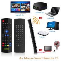 China T3 IR Learning Function Mini Wireless Keyboard Air Mouse For Smart TV Box on sale