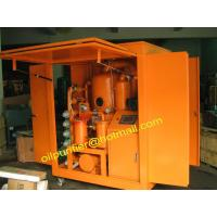 China Mobile Transformer Oil Filtration Unit,Insulating Oil Purifier,Oil Recovery,reclaiming on sale