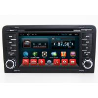 Quality 2 Din Central Entertainment System Android Car Navigation Audi A3 S3 RS3 With Bluetooth wholesale