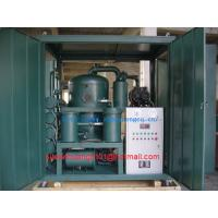 Quality 2 stage vacuum Transformer oil filtration machine/ Insulating oil purification machine wholesale