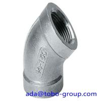 Cheap A403 WP316 Stainless Steel Elbows SCH10 - SCH160 XXS 45 90 180 Degree for sale