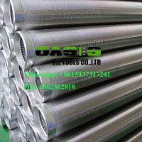 Buy cheap stainless steel continuous slot johnson screens pipe for well drilling product
