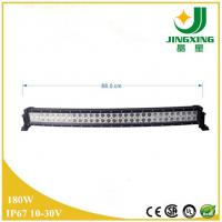 China Hot selling product bent 180w 32inch CRE E high lumen led light bar on sale