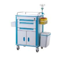 Quality Drug Delivery Medical Trolley Cart Hospital Emergency Crash Anaesthesia wholesale