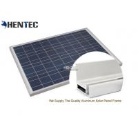 Quality CA And CE Aluminum Solar Panel Frame 6063-T5 With Oxidized / Anodizing wholesale