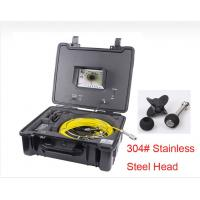 Quality HVB 30/40m Cable Drain Sewer Pipe Inspection Camera, Underwater CCTV Video Inspection camera wholesale