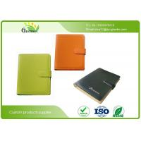 Quality Colors Soft Leather Card Pocket Recycled Paper Notebooks for Company Office Supplies wholesale