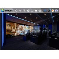 Quality 18 Persons 5D Movie Theater With Special Effect System 3DOF Pneumatic Motion Chairs wholesale