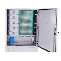 Quality IP65 Cold Rolled Steel Fiber Optic Distribution Cabinet 288 Cores Distribution Connection wholesale