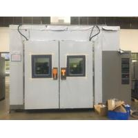 Quality Laboratory Double Door Air - Cooled 15L Walk In Test Chamber With Lighting Device wholesale