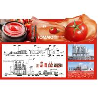 Quality SS304 Small Scale Ketchup Tomato Paste Production Line Customized Size Easy Operation wholesale