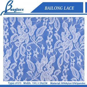 China Jacquard Nylon & Spandex Lace Fabric on sale