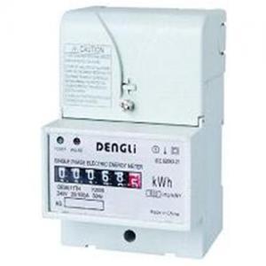 Quality Single Phase DIN RAIL Energy Meter, static energy meter, smart energy meter,power meter wholesale