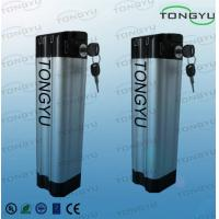 Quality LiFePO4 Electric Bike Lithium Battery 24V 10Ah With Silver Fish Aluminum Case wholesale