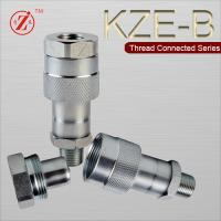 Quality 1/4 bsp Steel Thread locked type hydraulic quick release coupling wholesale