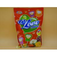 Quality Heart Shape Lollipop Healthy Hard Candy / Carb Free Low Calorie Candy For Girl wholesale