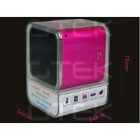 Quality Perfect Sound MP3 MP4 Portable Digital Speaker With TF Card Slot wholesale