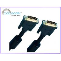 Quality 24K Gold, tinned and sliver plated DVI-I / DVI Monitor Cables DVI 24+5 male wholesale