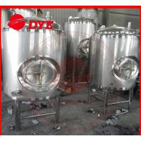 Quality 5BBL Stainless Steel Bright Beer Tank For Brewery High Precision Material wholesale