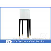 Quality Jewelry Pedestal Display Cases / Free Standing Jewelry Display Case wholesale