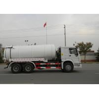 Quality 19CBM LHD 336HP Sewer Vacuum Truck 6×4 For Oil Chemical Sewage Tank Sediment Suction wholesale