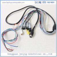Quality Waterproof Camera Monitor Cable , Rear View Camera Cable 20 Pin 1 Male To 4 Female Connector wholesale