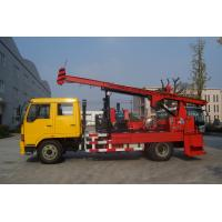 Quality Natural Gas Truck Mounted Drilling Rig , Trailer Mounted Drilling Rigs wholesale