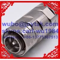 Buy cheap 4.3-10 male connector for 1/2 flex cable clamp type Best selling in Europe from wholesalers