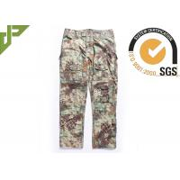 Quality Multicam Camouflage Army Combat Pants , Military Men's Tactical Cargo Pants Slim Fit wholesale